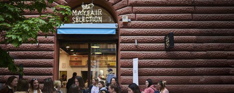 The Mayfair Selection angol divatáru