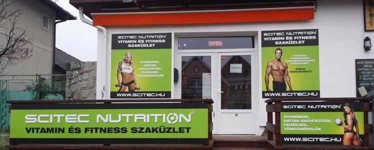 Scitec Nutrition Vitamin és Fitness Szaküzlet