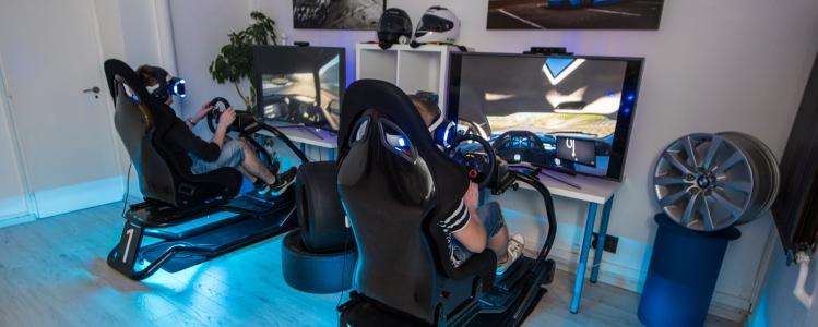 VR Racing szimulátorközpont